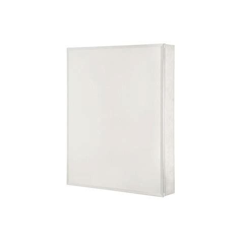 pegasus 15 in x 26 in frameless aluminum recessed or