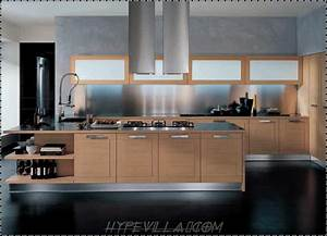 Kitchen design modern house furniture for Modern house kitchen interior design