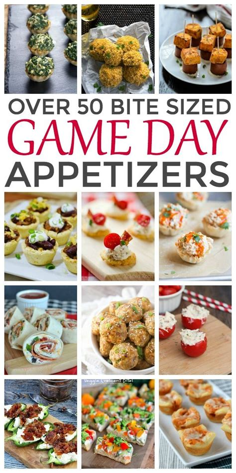 Appetizers For Bowl by 50 Bite Sized Day Appetizers Recipes