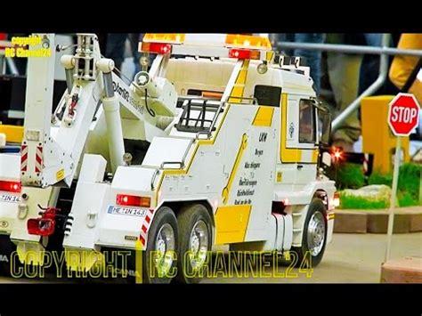 big rc truck tow truck tractor excavator semitruck