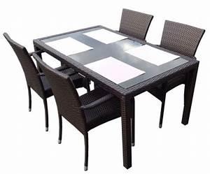 Chaise Table Jardin : chaise de jardin en bois ~ Teatrodelosmanantiales.com Idées de Décoration
