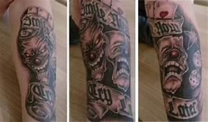 suchergebnisse fur 39masken39 tattoos tattoo bewertungde With masken tattoo vorlagen