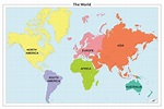 Pics Photos - Map Of The World Continents