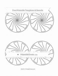 Free Printable Extra Large Peppermint Candy Template Shapes And Templates Printables
