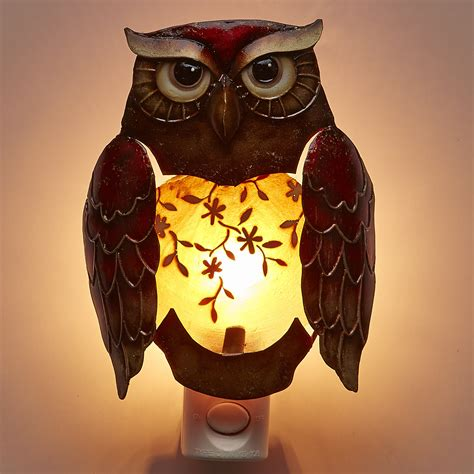 deco breeze decor owl night light reviews wayfair