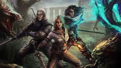 Witcher 4k Ciri Geralt Hunt Wild Yen