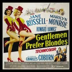 Gentlemen Prefer Blondes, 1953. #film #poster
