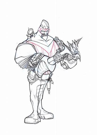 Concept Megamind Herrera Comic Saudelli Franco Francisco