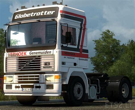 volvo trucks europe volvo f16 verhoek europe skin ets 2 mods
