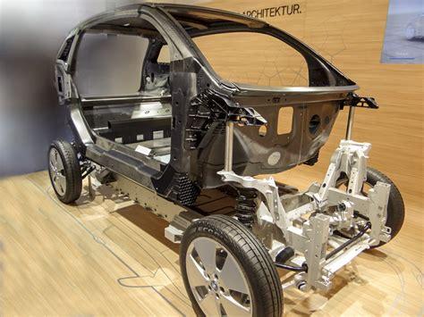 car chassis design  materials automotive plastics