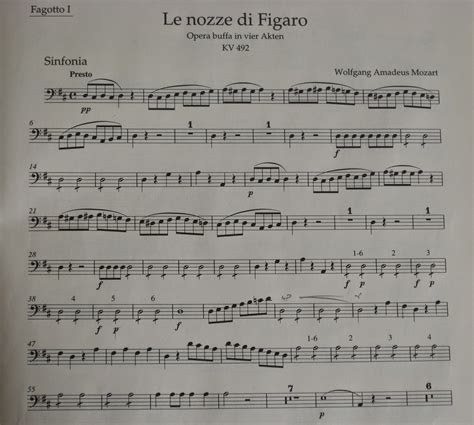 bassoon blog beyond the overture le nozze di figaro