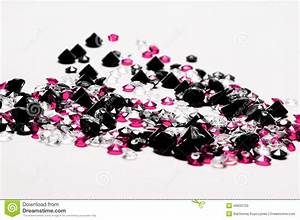 Black Diamonds stock image. Image of beautiful, gemstone ...