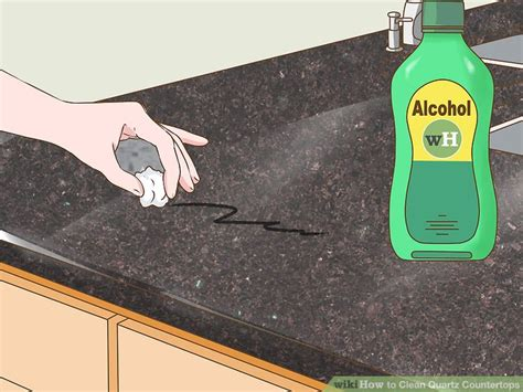 how to clean quartz countertops 4 ways to clean quartz countertops wikihow