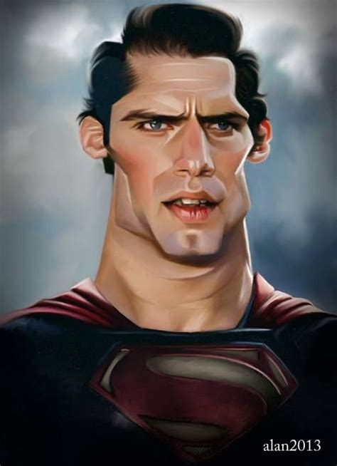 Superman, Henry Cavill  Caricatures  Crazy Faces
