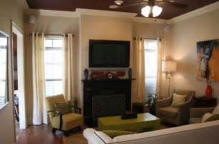 small livingroom chairs how to secretly arrange furniture around the tv