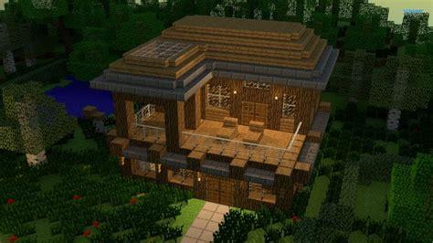 fancy wood house minecraft houses pinterest