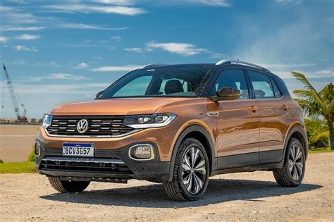 Now available in a vw dealership near you. Volkswagen T-Cross 2021 traz multimídia do Nivus e mantém ...