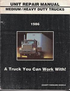 1986 Gmc Medium    Heavy Duty Trucks Unit Repair Manual