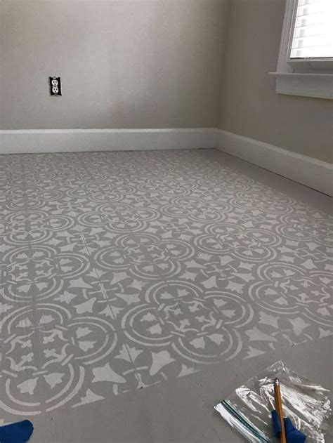 Best 25  Stenciled floor ideas on Pinterest