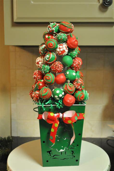 cake ball christmas tree cakecentral com