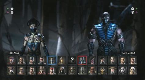 ermac mortal mortal kombat x characters pictures and names inthow