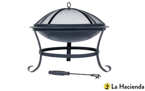 Curing Chiminea by Garden Furniture