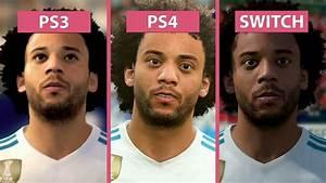 FIFA 18 Nintendo Switch Vs PS3 Vs PS4 Graphics