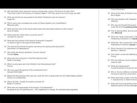 history final exam study guide unit  youtube