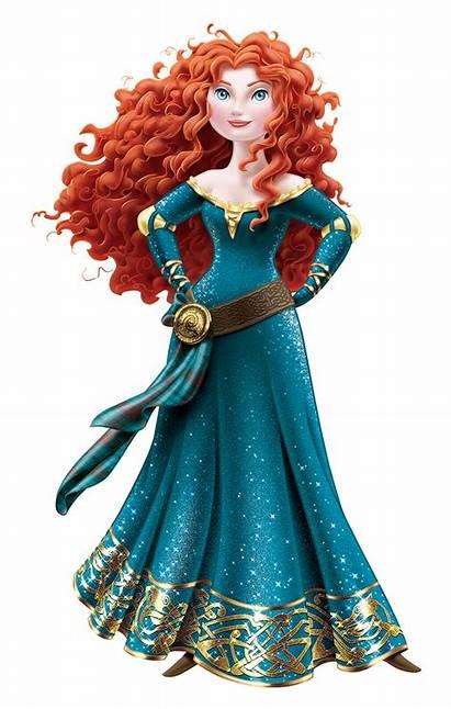 Merida Disney Princess Brave Rapunzel Ariel Princesa