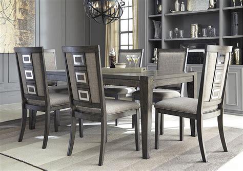 Langlois Furniture  Muskegon, Mi Chadoni Gray Rectangular