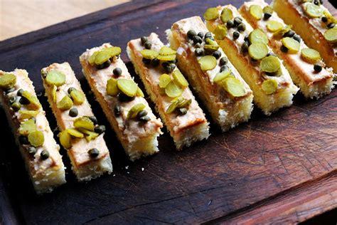 canape recipes to freeze foie gras canapé recipe great chefs