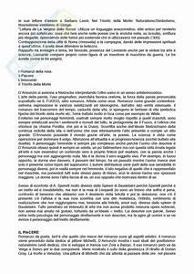 Lezioni  Appunti Di Letteratura Italiana Contemporanea