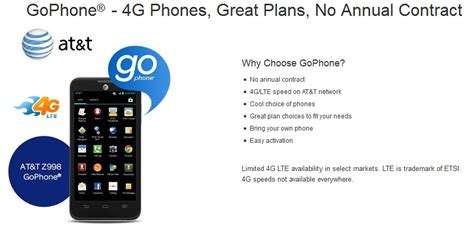 at t go phone plans at t to launch 1gb prepaid gophone plan for 45 analysis