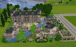 sim mansion photo gallery mod the sims the mansion no cc