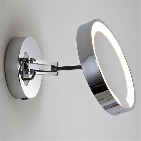 Polished Chrome Bathroom Mirrors by Astro Catena Polished Chrome Bathroom Mirror Light At Uk