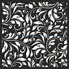 Damask Floral Vector Seamless Pattern – Download Vector
