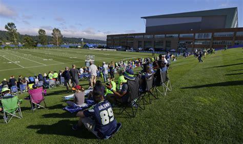 seahawks announce  training camp  registration info