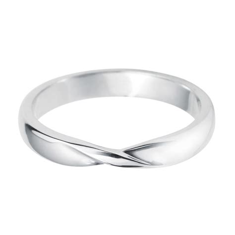 platinum ribbon twist shaped wedding ring at berry s jewellers