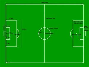 Football Pitch Soccers Field Measurements Clip Art At
