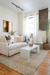 How, To, Decorate, White, Living, Room, Furniture