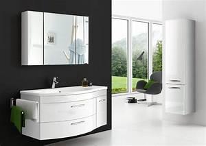 Badmöbel Set Weiß Hochglanz Günstig : sam badm bel hochglanz wei 3tlg spiegelauswahl vena auf lager ~ Indierocktalk.com Haus und Dekorationen