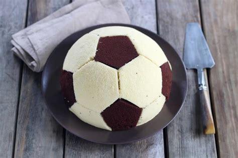 recette gateau ballon de foot en pas  pas