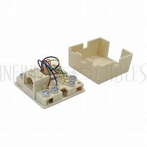 Rj31x Rj45 Surface With 2ft Rj45 To Spade Lug Cable