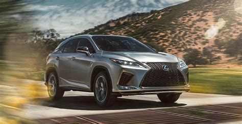 introducing  updated  lexus rx rx  sport lexus