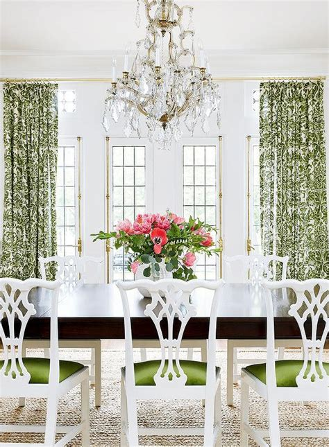 white chippendale chairs design ideas