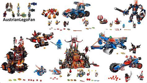 All Lego Nexo Knights Season 2 Sets