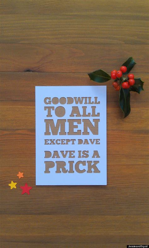 clever christmas cards    funny huffpost