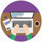 Icon Flat Editor Seo Developer Development Icons