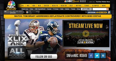 Nbc Is Live Streaming The Super Bowl, But They Forgot That