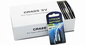 Cr425 Lithium Battery Cr 425 Battery 3 0 V Pin Type For